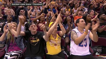 Cleveland at Golden State, Game 2 from 06/04/2017