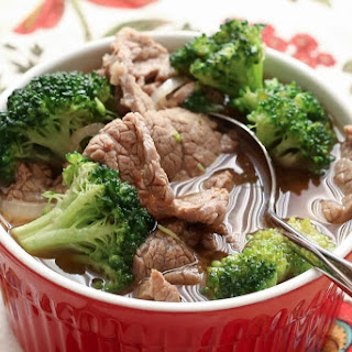 Chinese Beef and Broccoli Soup Recipe