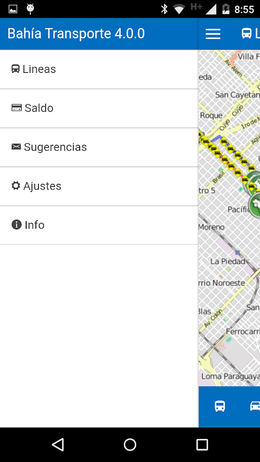 Bahía Transporte- screenshot