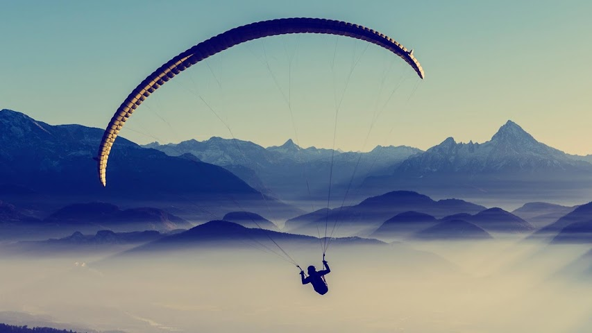 android Extreme.Paragliding.Wallpaper Screenshot 4