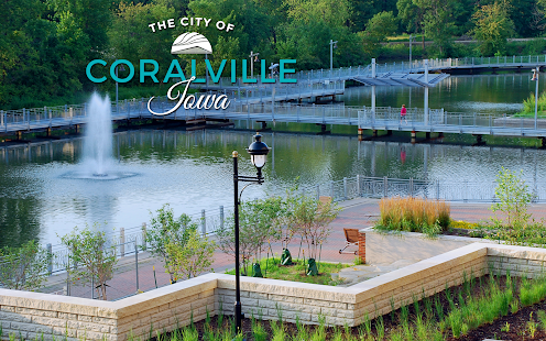 City of Coralville IA- screenshot thumbnail