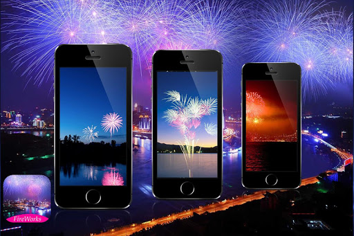 Fireworks Screen Prank