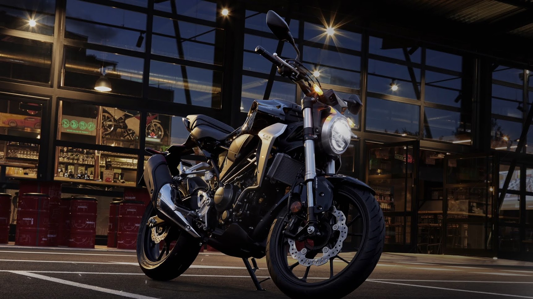 Commercial advertising video Honda CB250R preview
