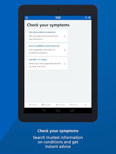 NHS App 1.37.0 Screenshots 8