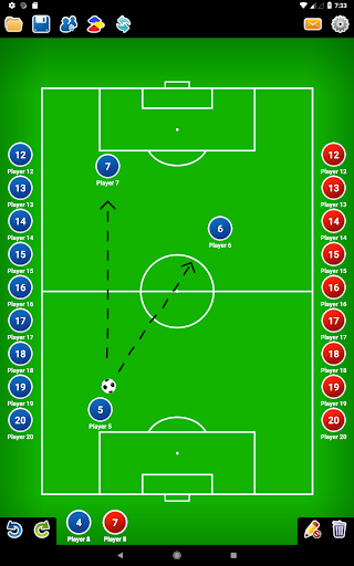 Coach Tactic Board: Soccer 1.2.2 screenshots 8