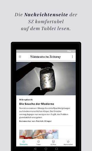 SZ.de - Nachrichten - Süddeutsche Zeitung 12.0.0 screenshots 12