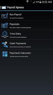 Payroll Xpress - náhled