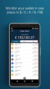 Crypto Viewer - náhled
