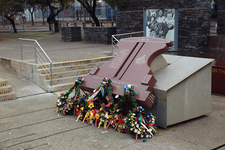 Hector Pieterson memorial site in Soweto