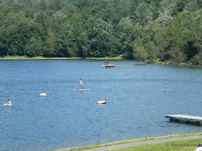 Photo: All different types of boating and relaxing at Waterbury Center State Park