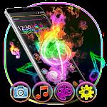 Neon Light Music Launcher 5.44.11