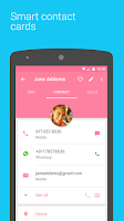 Screenshot of Contacts +