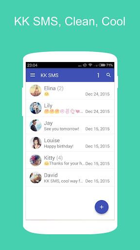 KK SMS Messaging SMS MMS