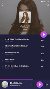 Music player - pro version Screenshot