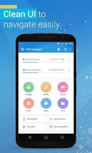 File Manager - File explorer screenshot