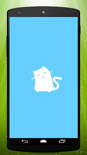 White Cat Live Wallpaper