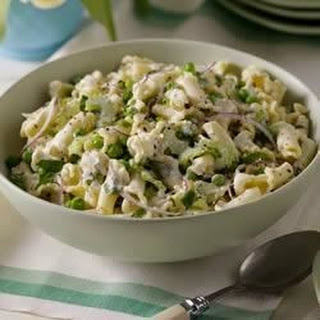 Pea and Mint Pasta Salad