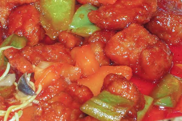 Non-traditional Awesome Sweet & Sour Pork Recipe