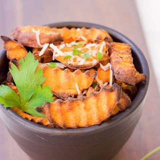 Baked Parmesan Sweet Potato Fries Recipe