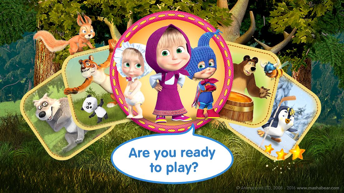 Masha and the Bear Child Games screenshot 7