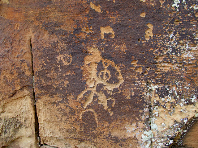 North side petroglyphs