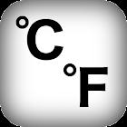 摄氏华氏温度计 icon