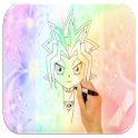 Comment dessiner Yu-Gi-Oh! icon