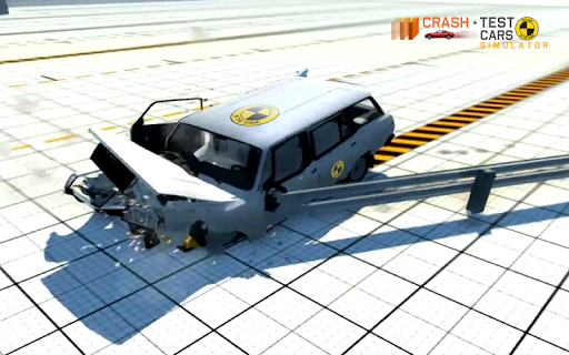 Car Crash Test VAZ 2104  captures d'u00e9cran 8