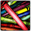 Colorful Mess by Crystal Gibson - Artistic Objects Toys