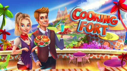 Cooking Fort - Chef Craze Restaurant Cooking Games screenshot 1