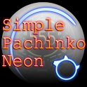 Simple Pachinko NEON icon