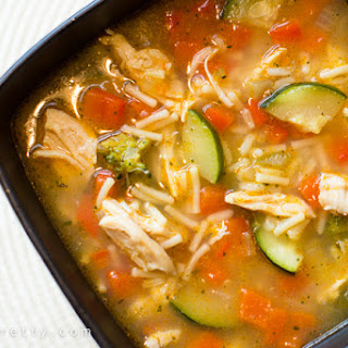 Chicken & Rice Vegetable Soup