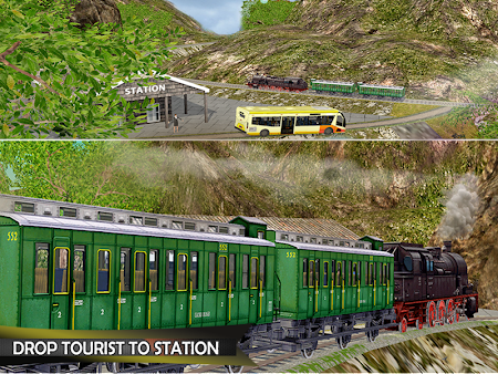 Tourist Train Hill Driving 1.1 screenshot 1660470