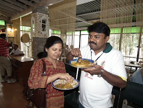 Photo: Duck with his better half Aparna