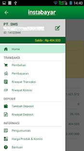 App InstaBayar - Layanan PPOB APK for Windows Phone