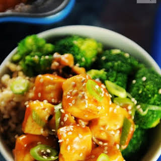 Sweet and Sour Tofu.