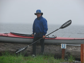 Photo: The end of the first leg of my Inside Passage kayak trip at Port Hardy.