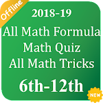 All Math Formula, Math Quiz, All Math Tricks 3.2
