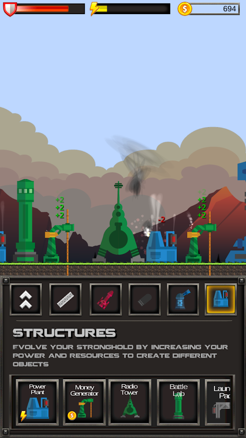 Stronghold2D - Multiplayer War- screenshot