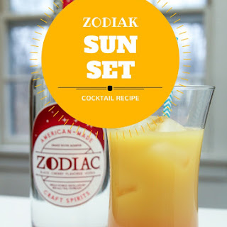 Zodiac Sunset Cocktail