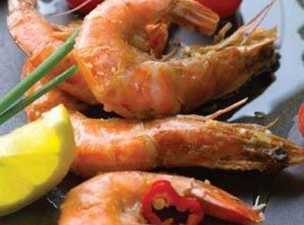 Coconut And Lemon Grass Spiced Prawns Recipe