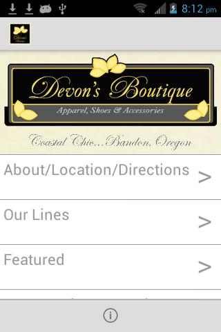 Devons Boutique