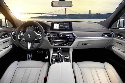 The interior has plenty of class and space.  Picture: BMW