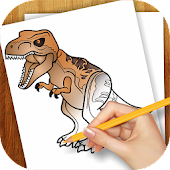 Draw Lago Jurassic World