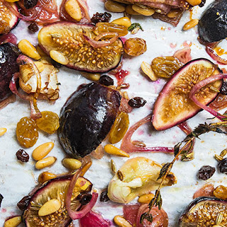 Roasted Fig Agrodolce