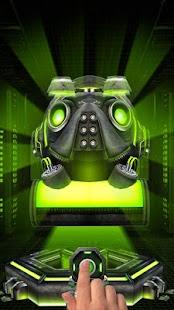 3D Iron Robot Theme - náhled