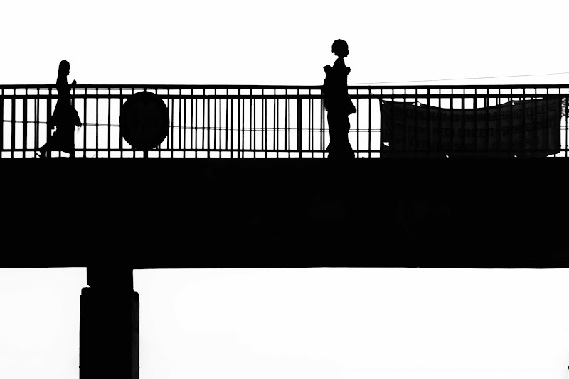 silhouettes on the road di antonioromei