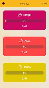 世界地理測驗:國家,地圖,首都