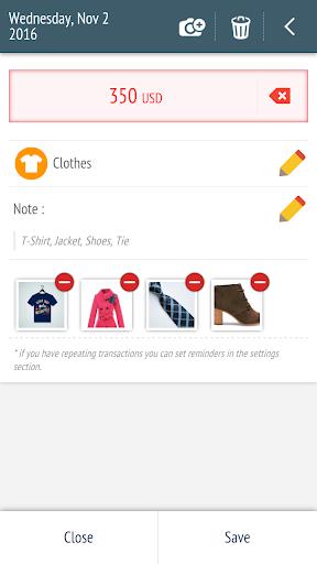 Expense Manager - Tracker  screenshots 3