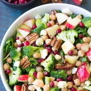 Broccoli Kale Superfood Salad.